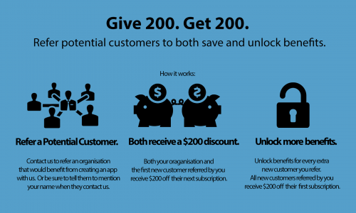 customer referral - one of the easy marketing ideas for small business