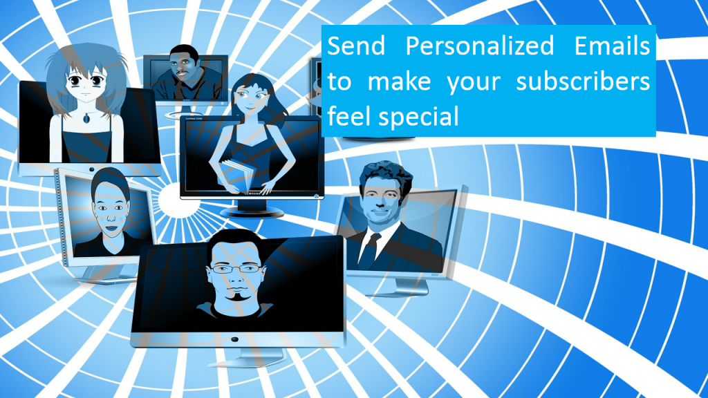 Use Personalized Emails to Promote Online Business