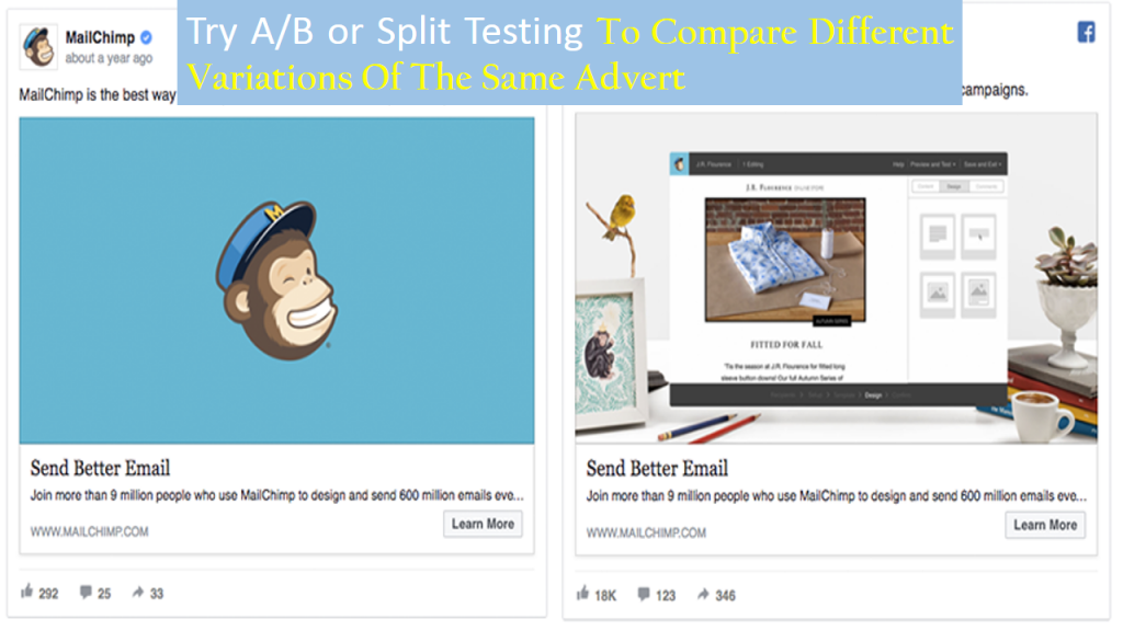 Try A/B Testing to Promote a Small Online Business With Facebook Ads