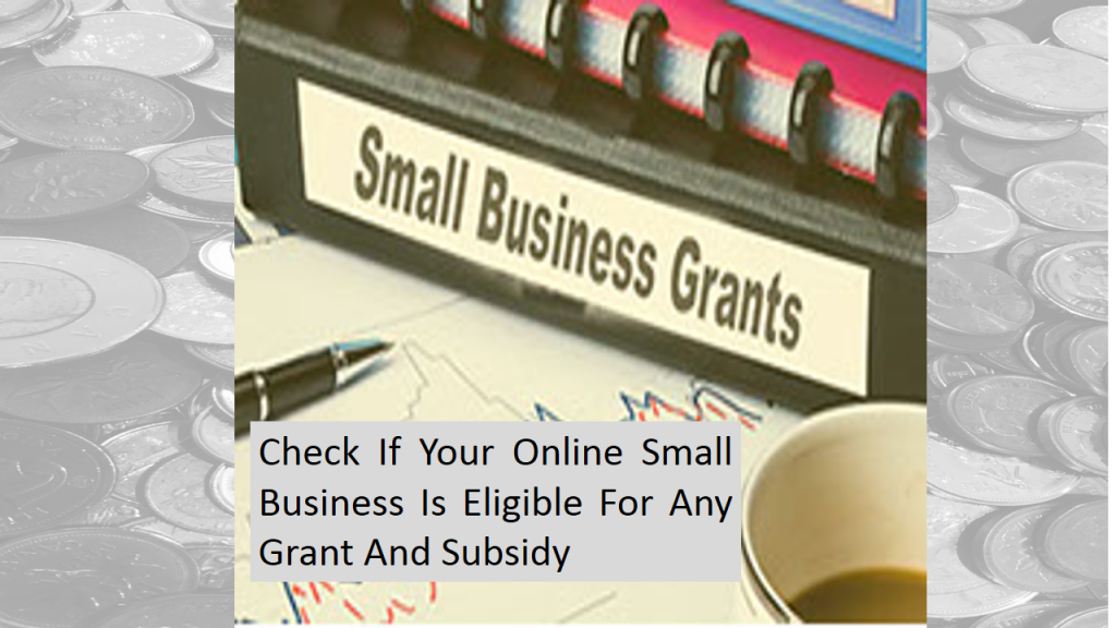 Try to Apply For Grants and Subsidies