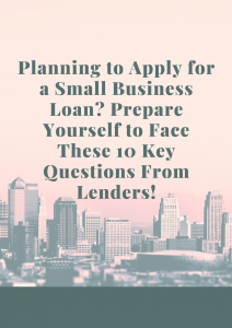 how to apply for a small business loan