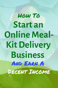 How to start an online meal-kit delivery business