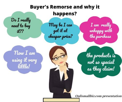buyer remorse