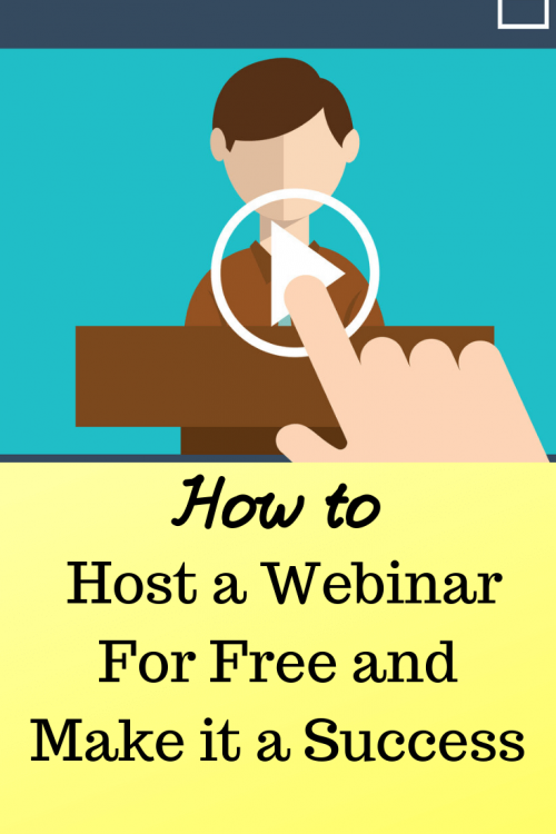 how to host a webinar for free
