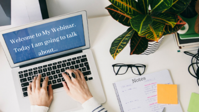 learn to host a webinar online