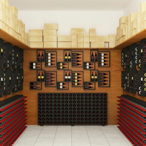 wine racks- one of the creative ways to make good money