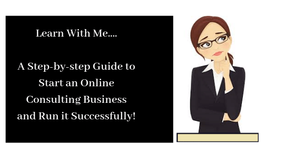 complete steps to start an online consulting business