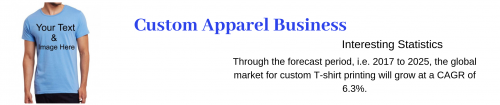 custom clothing- fast growing business