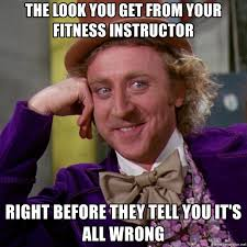 fitness instructor meme