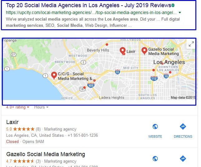 local SEO helps social media marketing services