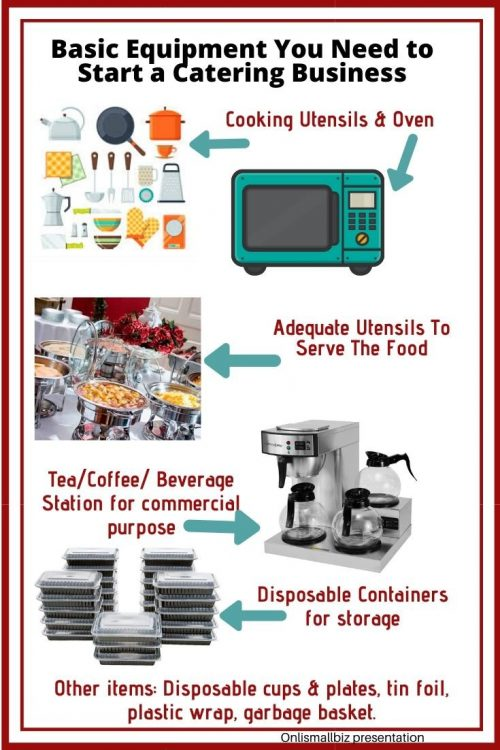 Basic Equipment You Need to Start a Catering Business