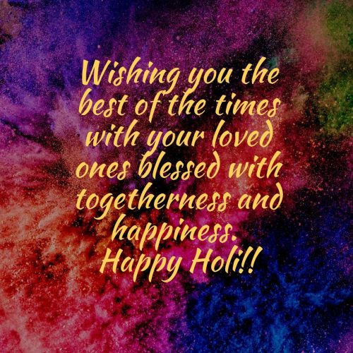 holi wishes for business friends