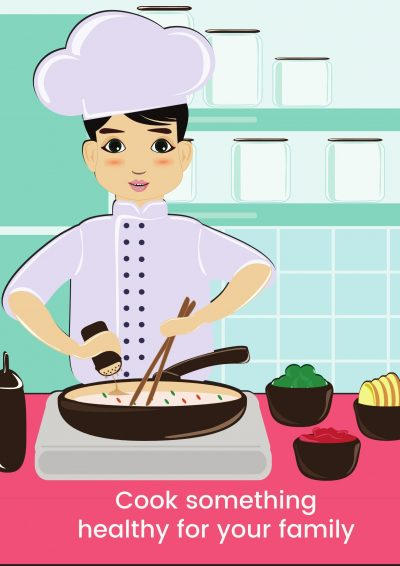 cooking can be a stressbuster during isolation