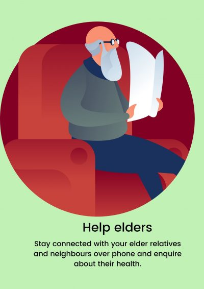help elders fight coronavirus