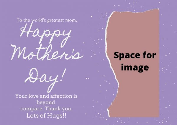 beautiful card for mom's day