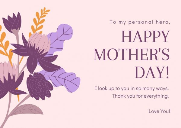 elegant mother's day cards with verses to make her smile