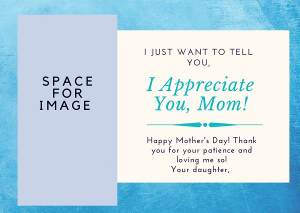 mother's day card design for free